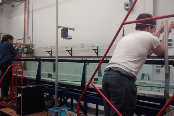 Scientific research with sensor data